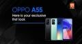 OPPO представит A55 4G