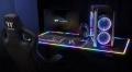 Компьютерный стол с подсветкой от Thermaltake