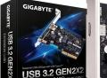 Gigabyte выпустила карту расширения с поддержкой USB 3.2 Gen 2x2