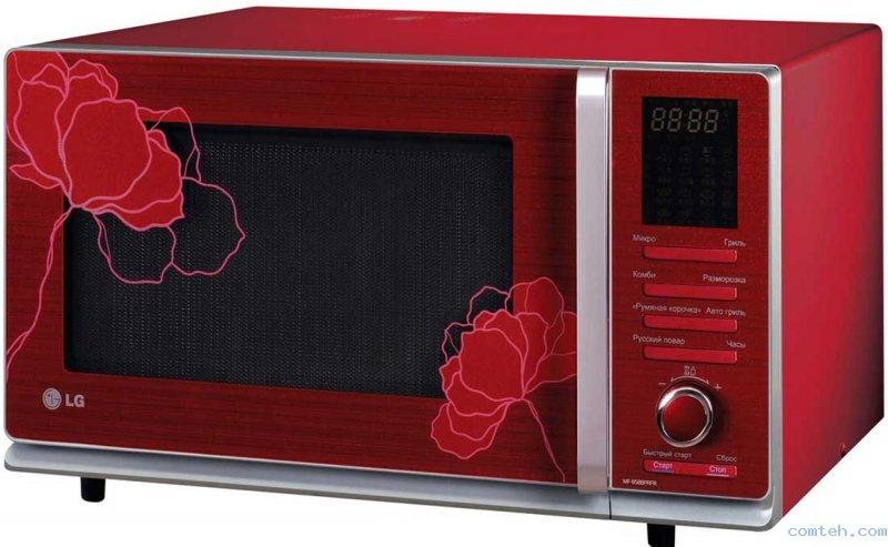 Микроволновая печь lg mf 6588prfr 5