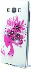 Чехол-накладка для LG L80+ Dual D335/D337 Mobiking Flower Lady (35935)