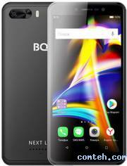 Смартфон BQ-Mobile Next LTE Black (BQ-5508L***)