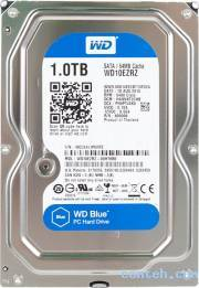 Жесткий диск 1 ТБ Western Digital Blue (WD10EZRZ***)