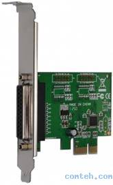 Контроллер внешний ATcom PCI-E PARALLEL,WCH-chipset