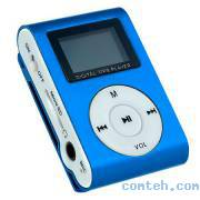 "MP3-плеер 1,2"" Perfeo MUSIC CLIP DISPLAY (VI-M001-Display Blue)"